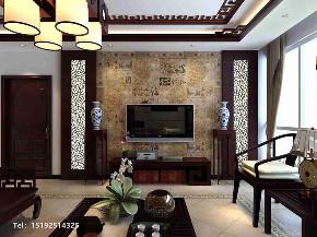中式 青岛 装修 三居 客厅图片来自快乐彩在崂山区金领世家传统中式风格的分享