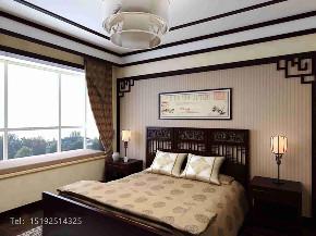 中式 青岛 装修 三居 卧室图片来自快乐彩在崂山区金领世家传统中式风格的分享