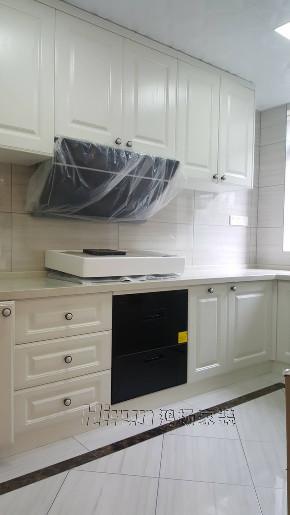简约 欧式 混搭 收纳 白领 80后 小资 厨房图片来自鸿扬家装武汉分公司在东湖楚世家白色欧风的分享