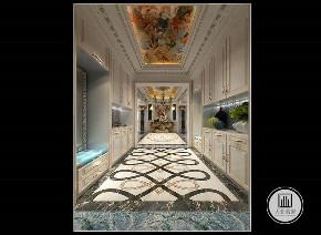 法式 装修效果 宫廷风 五居 楼梯图片来自大业美家 家居装饰在荣盛华府毓秀宫户型法式风格的分享