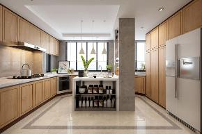 厨房图片来自云南俊雅装饰工程有限公司在长城小区 美式风格的分享