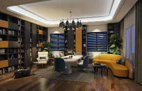 书房图片来自北京高度国际在张于形,敛于心--蓝岸丽舍的分享