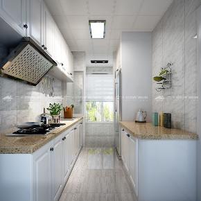欧式 简约 简欧 白领 80后 小资 浪漫 混搭 旧房改造 厨房图片来自昆明二十四城装饰集团在银海泊岸 简约欧式的分享