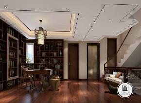 中式 新中式 荣盛华府 客厅图片来自大业美家 家居装饰在荣盛华府凌波仙户型新中式装修的分享