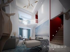 5室 客厅图片来自韦克空间设计在现代风新家,守护心灵的静土的分享