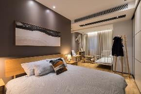 卧室图片来自家装大管家在90平现代北欧居 简简单单的世界的分享