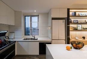 厨房图片来自家装大管家在90平现代北欧居 简简单单的世界的分享