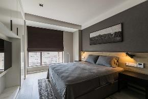 卧室图片来自家装大管家在106平现代淡雅3居 慵懒舒适生活的分享