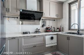 幸福空间 幸赢空间 装修设计 白领 收纳 80后 小资 室内设计 上海装修 厨房图片来自幸福空间在106平,重拟空间比例享受好时光的分享