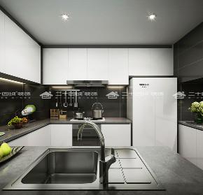 简约 欧式 北欧 清新 现代简约 别墅 白领 收纳 小资 厨房图片来自二十四城装饰(集团)昆明公司在芜仙湖沁园  混搭风的分享