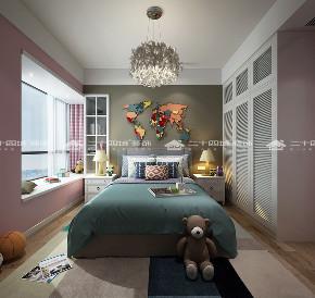 简约 欧式 北欧 清新 现代简约 别墅 白领 收纳 小资 卧室图片来自二十四城装饰(集团)昆明公司在芜仙湖沁园  混搭风的分享