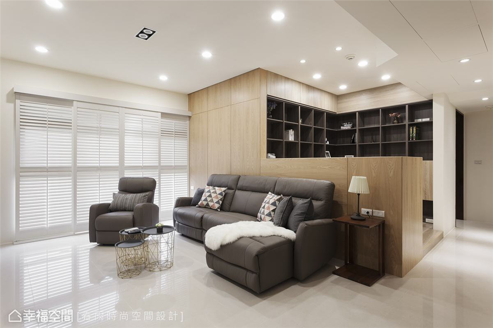 装修设计 装修完成 休闲风格 小资 书房图片来自幸福空间在99平, 高CP值混搭机能宅的分享