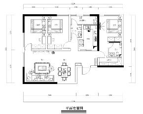 简约 现代简约 混搭 三居 收纳 旧房改造 小资 80后 白领 户型图图片来自昆明二十四城装饰集团在实力壹方城  现代简约的分享