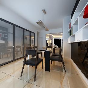 简约 现代简约 白领 收纳 旧房改造 80后 小资 混搭 洋气 餐厅图片来自昆明二十四城装饰集团在万彩城 现代简约的分享