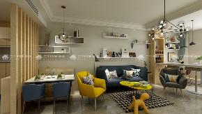 北欧 清新 文艺 二居 白领 收纳 旧房改造 小资 90后 餐厅图片来自昆明二十四城装饰集团在团山欣城 北欧的分享