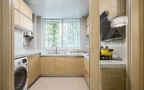 厨房图片来自家装大管家在心灵的港湾 105平现代简约3居的分享