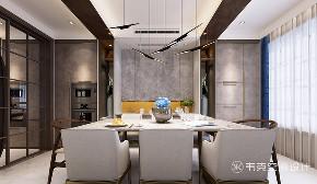 别墅 餐厅图片来自韦克空间设计在371㎡轻奢新中式,美的像幅画!的分享