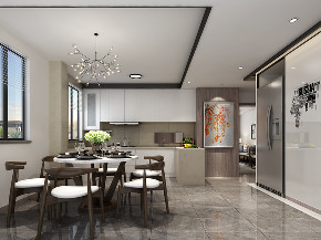 简约 三居 旧房改造 80后 餐厅图片来自敏空间在静安区某公寓设计的分享