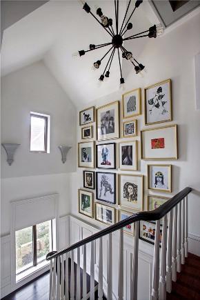 别墅装修 别墅装修设 英伦风格 混搭风格 京兆府装修 楼梯图片来自别墅装修设计--Hy在英伦格调的时尚装修的分享