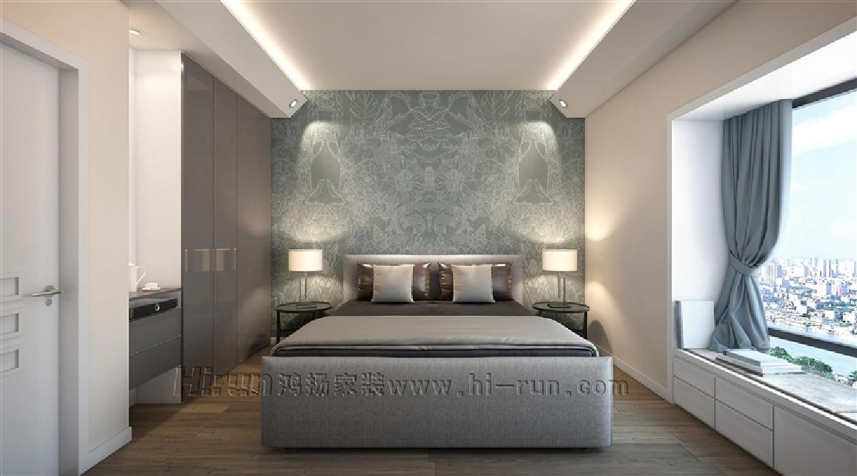 软装的创意搭配,可采用原木、假梁等作为局部装饰,可用棉麻地毯营造温馨氛围。