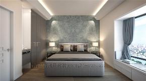 简约 三居 白领 收纳 小资 卧室图片来自鸿扬家装武汉分公司在丹麦风情130平-鸿扬家装的分享