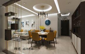 餐厅图片来自沈阳百家装饰小姜在百家装饰益格清水湾93平现代风格的分享
