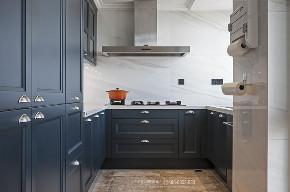 厨房图片来自品川室内设计在品川设计|惊艳你的高级灰设计的分享