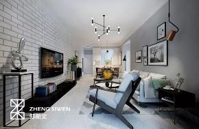 客厅图片来自沈阳百家装饰小姜在百家装饰中海和平之门83平现代的分享