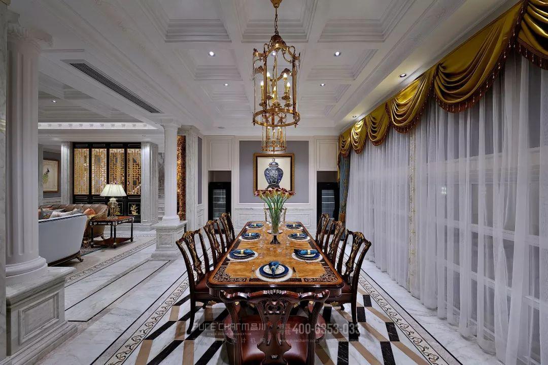 厨房图片来自品川室内设计在品川设计丨奢宅、气度的分享