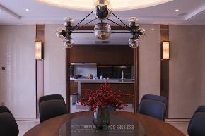 餐厅图片来自品川室内设计在以风雅为骨的顶豪人文大宅的分享