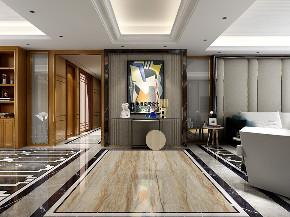 别墅 现代 简约 四居 玄关图片来自申远空间设计北京分公司在恒大华府的分享