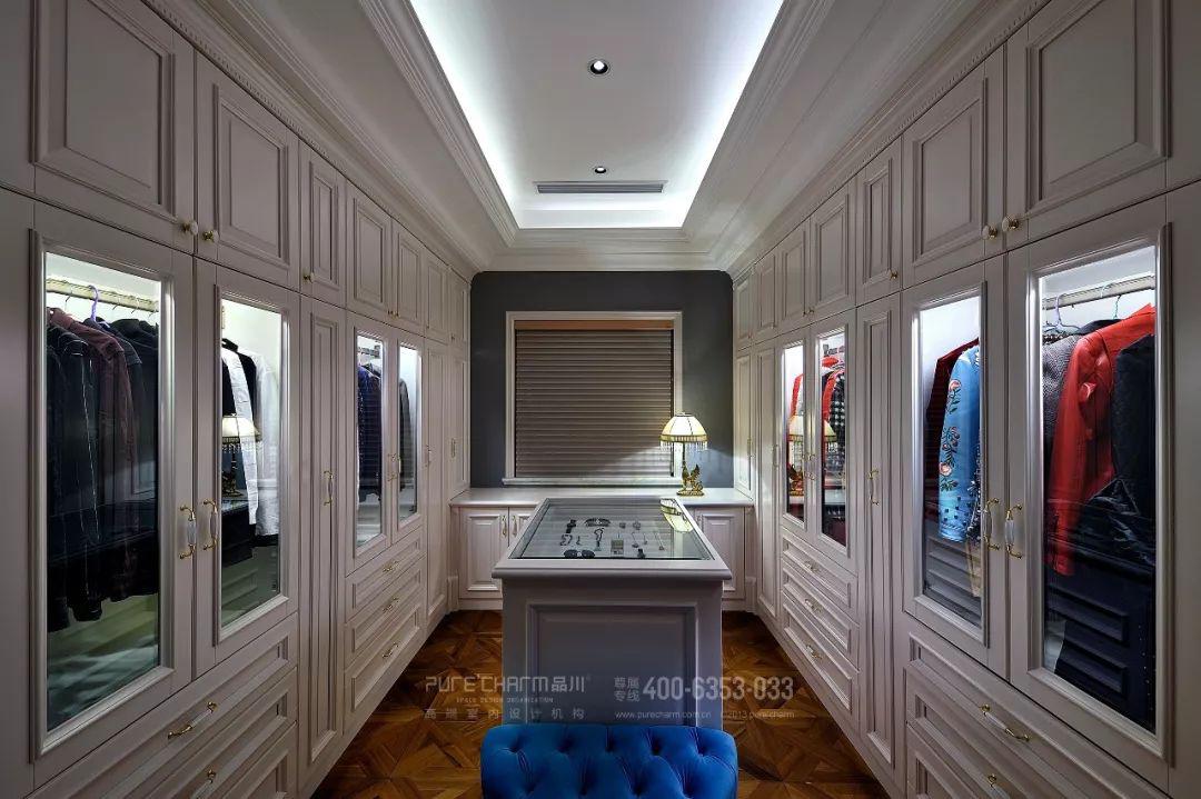 衣帽间图片来自品川室内设计在品川设计丨奢宅、气度的分享