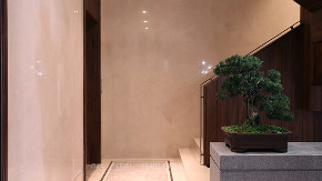 楼梯图片来自品川室内设计在以风雅为骨的顶豪人文大宅的分享