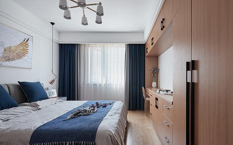 卧室图片来自家装大管家在钟爱木质 120平日式混搭时尚3居的分享