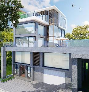 别墅 轻奢 其他图片来自穆森设计在MSD穆森设计机构--星河丹堤别墅的分享