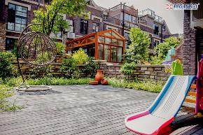 简美风格 别墅花园 其他图片来自重庆新思路装饰在重庆同景国际城雍华府装修效果的分享
