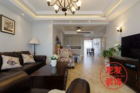 美式风格 龙发装饰 成都龙发 客厅图片来自用户20000004404262在龙樾湾美式风格案例分享的分享