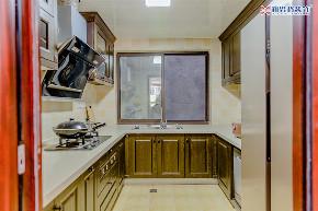 简美风格 厨房装修 新思路装饰 厨房图片来自重庆新思路装饰在重庆同景国际城雍华府装修效果的分享