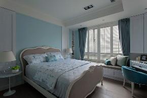 70平美式 卧室图片来自西安紫苹果装饰工程有限公司在70平米美式的分享
