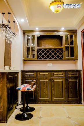 简美风格 同景国际城 厨房图片来自重庆新思路装饰在重庆同景国际城雍华府装修效果的分享