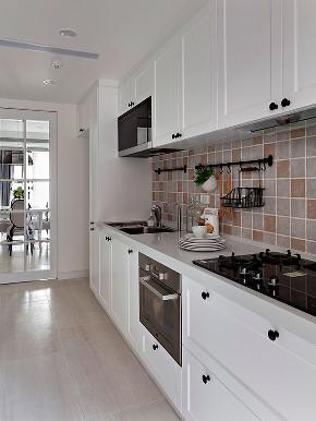 70平美式 厨房图片来自西安紫苹果装饰工程有限公司在70平米美式的分享