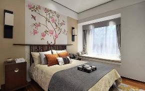 卧室图片来自武汉申阳红室内设计在海赋江城的分享