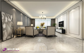 简约 现代 客厅图片来自济南城市人家装修公司-在三庆御园装修现代轻奢风格的分享