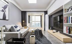 客厅图片来自家装大管家在清新明亮 95平现代北欧时尚空间的分享