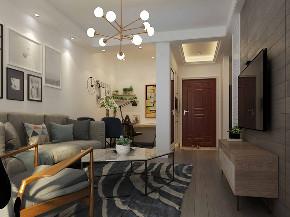 简约 混搭 80后 小资 客厅图片来自武汉申阳红室内设计在硚口交通小区的分享
