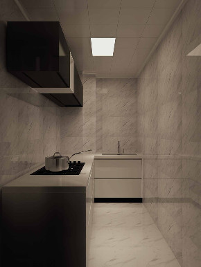 简约 混搭 80后 小资 厨房图片来自武汉申阳红室内设计在硚口交通小区的分享