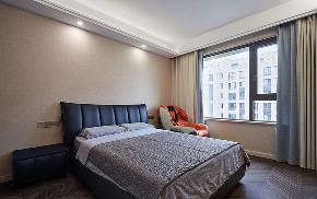 卧室图片来自家装大管家在130平现代轻奢舒适居 自然与时尚的分享