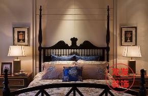 美式设计 成都龙发 龙发装饰 卧室图片来自用户20000004404262在长滩壹号美式风格案例分享的分享