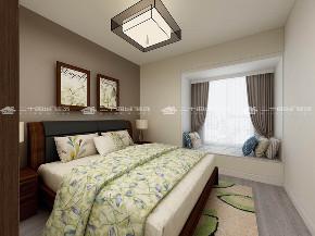 新中式 新中式古典 混搭 白领 收纳 旧房改造 80后 小资 大气 卧室图片来自昆明二十四城装饰集团在新迎新城  新中式古典的分享