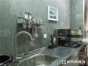 loft极简 loft风格 新思路装饰 小户型装修 现代风格 厨房图片来自重庆新思路装饰在loft极简风格(复地上城)的分享